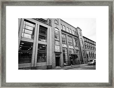 municipal school for jewellers and silversmiths school of jewellery Birmingham UK Framed Print