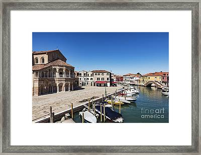 Murano Italy Framed Print