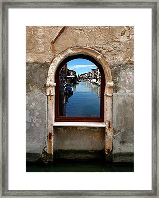 Murano Reflection Framed Print