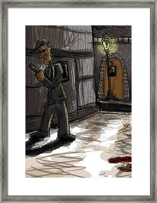 Murder At Number 5 Framed Print by Sasank Gopinathan