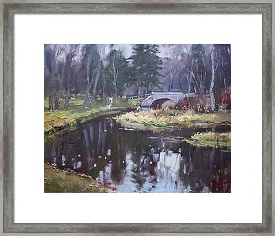Murder Creek Ny Framed Print