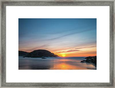 Murder Hole Beach Framed Print