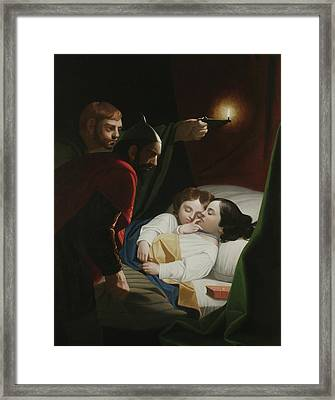Murder Of The Princes Framed Print