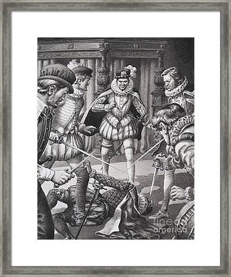 Murder Framed Print by Pat Nicolle