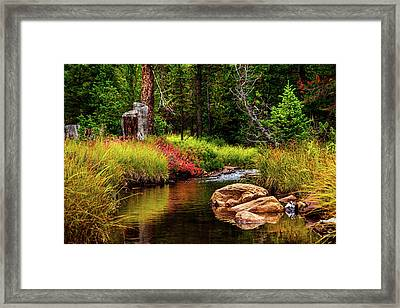 Murdock Basin Autumn Framed Print