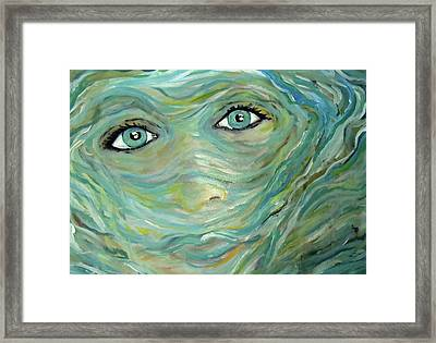 Murky Water Framed Print by Made by Marley