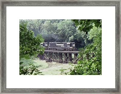 Murphy Branch Freight Framed Print