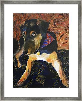 Murphy I Framed Print by Nik Helbig