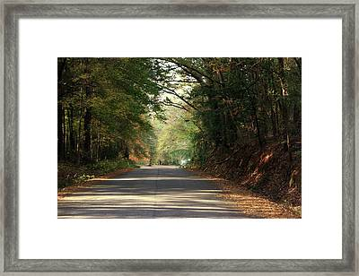 Murphy Mill Road Framed Print by Jerry Battle