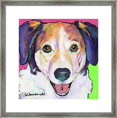 Murphy Framed Print by Pat Saunders-White
