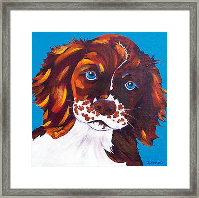 Murphy Framed Print by Susan Szabo