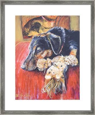 Murphy Viii Framed Print by Nik Helbig