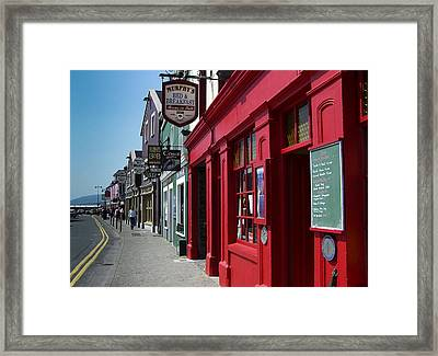 Murphys Bed And Breakfast Dingle Ireland Framed Print