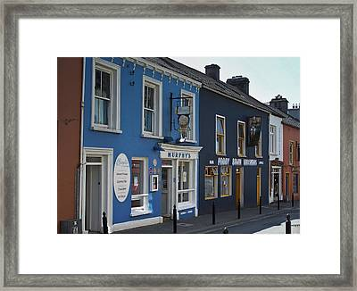 Murphys Ice Cream Dingle Ireland Framed Print