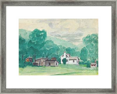 Murray Hollow Farm Framed Print