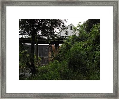 Murray's Mill Framed Print by MW Robbins