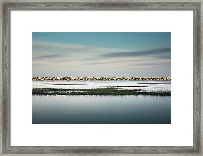 Murrells Inlet Marsh Framed Print by Ivo Kerssemakers
