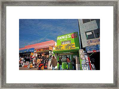 Muscle Beach Framed Print by James Rasmusson