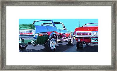 Muscle Control Framed Print by Lynn Masters