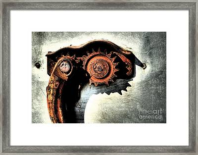Muscle Framed Print by Fred Lassmann