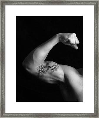 Muscle Growth Framed Print