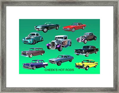 Muscle Times 9 Framed Print by Jack Pumphrey