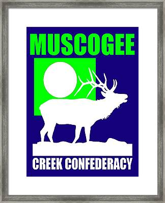 Muscogee-3 Framed Print by Otis Porritt