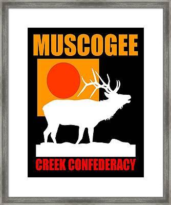 Muscogee Framed Print by Otis Porritt