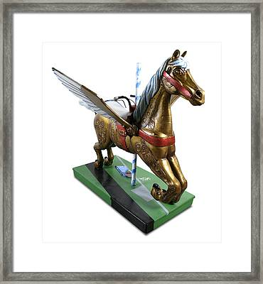 Muse Of Flight Framed Print by Paul Illian