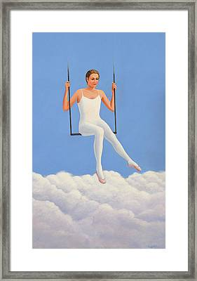 Muse Of Midday Framed Print