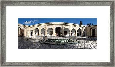 Musee Du Batha Built By Sultan Hassan I Framed Print
