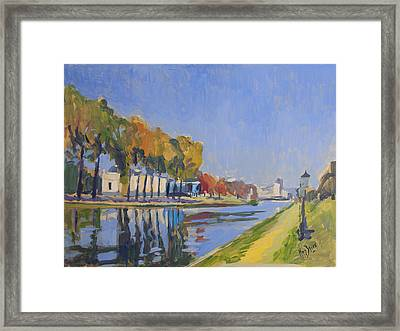 Musee La Boverie Liege Framed Print by Nop Briex