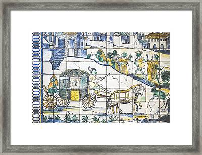 Museu Do Azulejo Framed Print