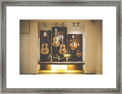 Museu Do Fado Framed Print