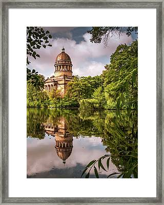 Museum At The Zoo Framed Print