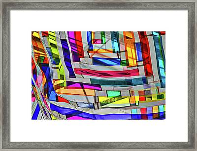 Museum Atrium Art Abstract Framed Print by Stuart Litoff