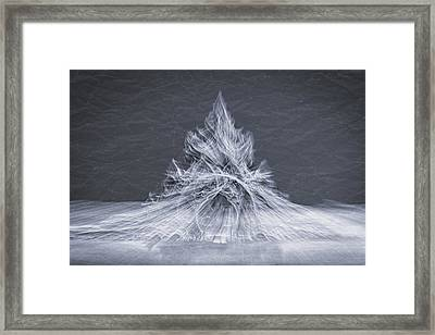 Museum Exhibit Abstract #2 Framed Print