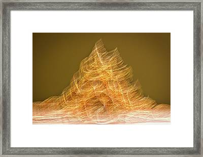 Museum Exhibit Abstract Framed Print