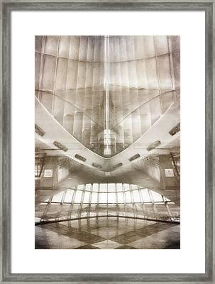 Museum Inside Out Framed Print