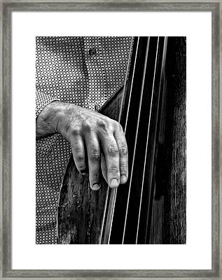 Museum Mile Nyc 6_14_16 Musician Framed Print