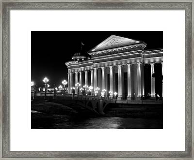 Museum Of Archaeology Framed Print by Rae Tucker