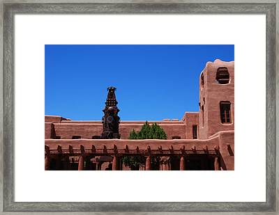 Museum Of Indian Arts And Culture Santa Fe Framed Print by Susanne Van Hulst