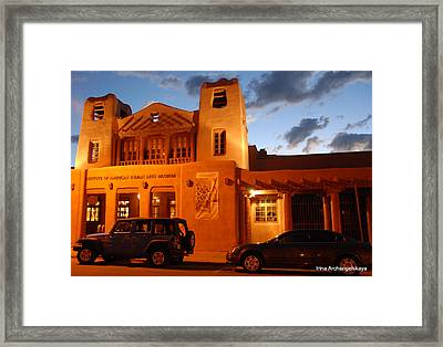 Museum Of Indian Arts Framed Print