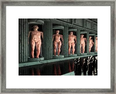 Museum Of Inner Demons Framed Print