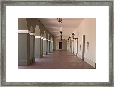 Framed Print featuring the photograph Museum Of The Americas by Carl Purcell