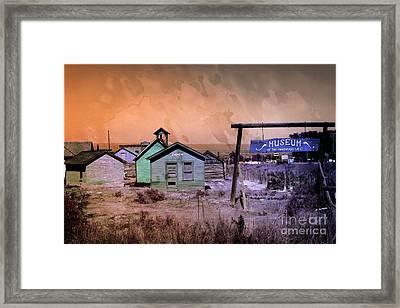Museum Of The Mountain West Montrose Colorado Usa Framed Print