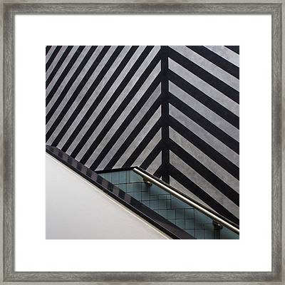 Museum Staircase Framed Print by Luc Vangindertael