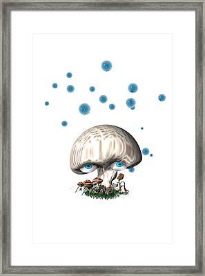 Mushroom Dreams Framed Print by Carol and Mike Werner