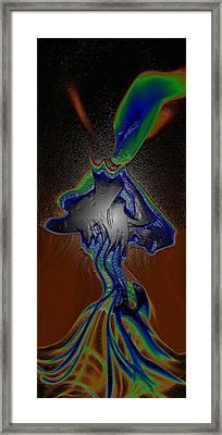 Mushroom Explosion Framed Print by Joshua Sunday