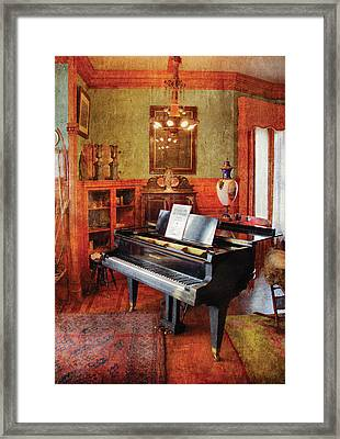 Music - Piano - It's A Long Long Way To Tipperary Framed Print by Mike Savad